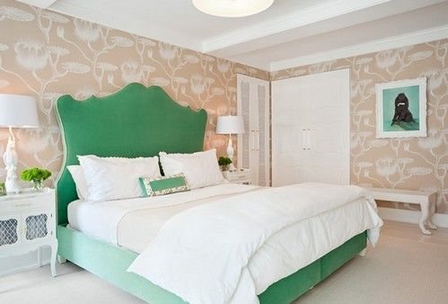 зелена ліжко