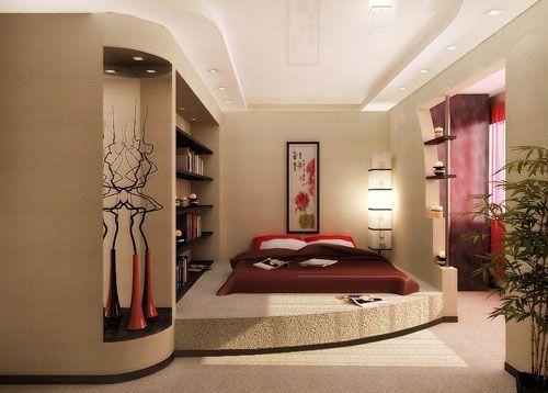 Інтер`єр спальні в різних стилях. Частина i