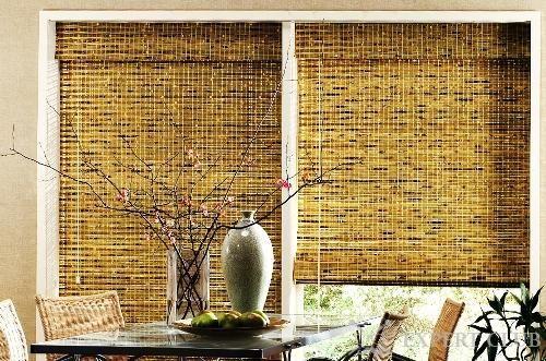 Бамбукові штори - натуральні матеріали не втрачають популярності