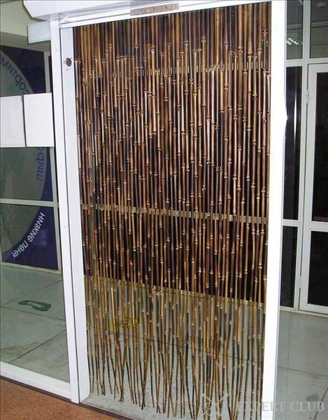Бамбук сліпий на двері
