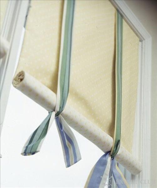 Фіксація рулонної штори