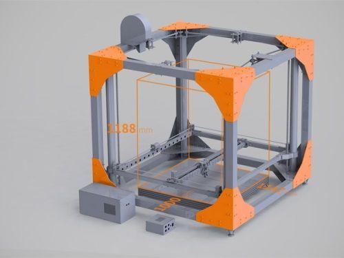 Bigrep one: 3d принтер, здатний надрукувати меблі повністю