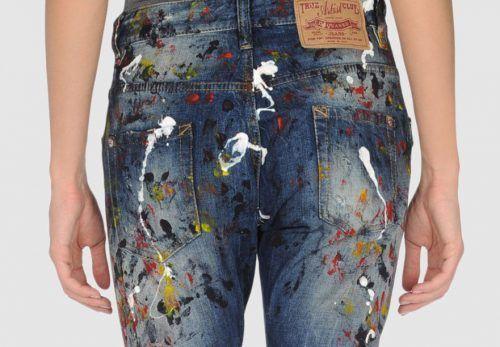 Фарба на джинсах