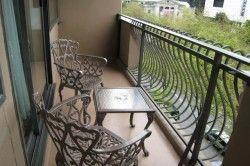 Покриття підлоги незаскленого балкона