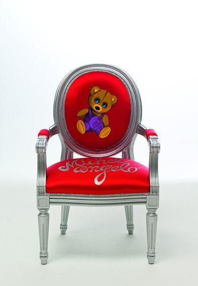Creazioni створює яскраву дитячу меблі