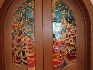 Декупаж дверцят шафи