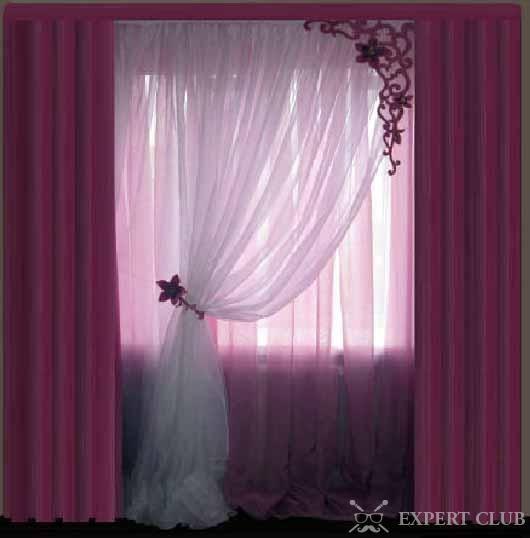 Робимо штори для спальні своїми руками