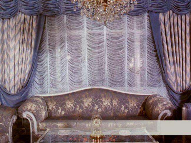 Складки на французьких шторах