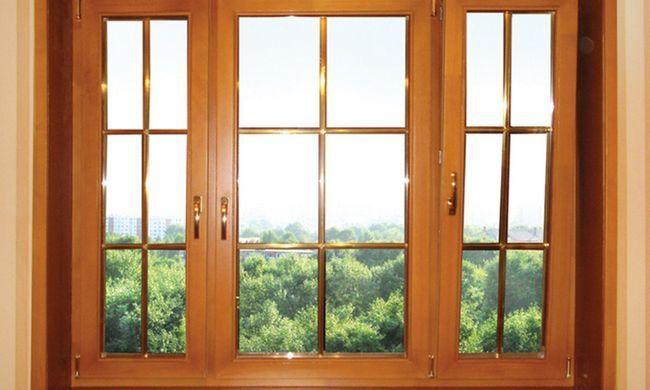 Дерев`яні вікна для дачі