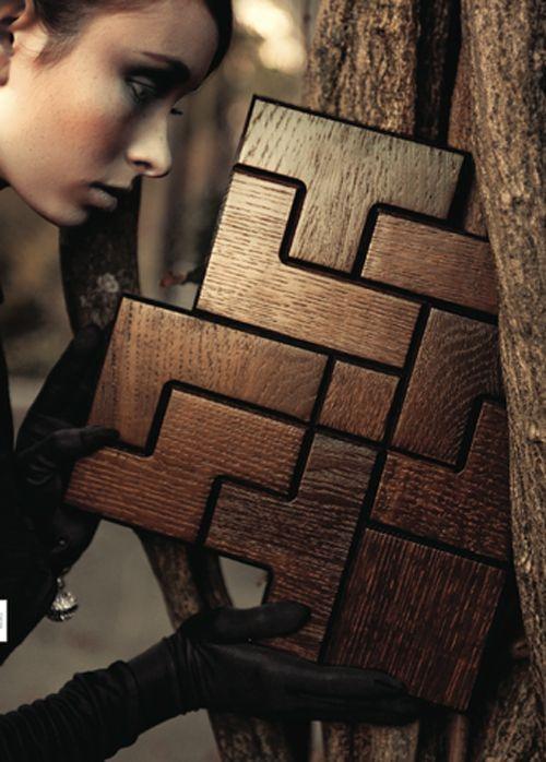 Дерев`яна підлога-плитка