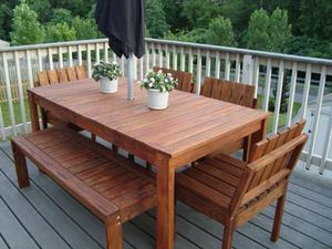 Дерев`яний стіл своїми руками, фото етапів робіт