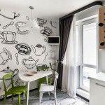 дизайн кухні 12 кв з балконом