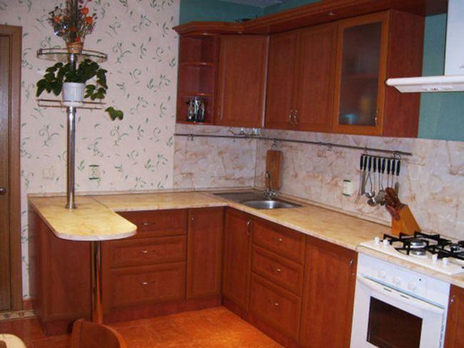 Дизайн кухні з барною стійкою орієнтуємося по фото