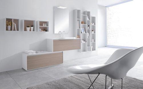 Мінімалістична меблі для ванної metropolis