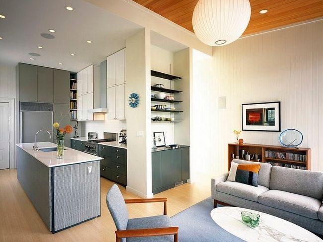 Дизайн проект кухня-вітальня - поєднання вітальні з кухнею