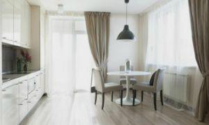 Дизайн штор для кухні: фото, поради та рішення