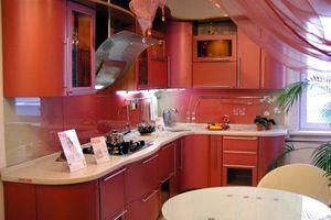 Дизайн зони приготування їжі - кутова кухня