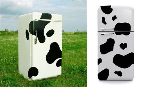 Дизайнерські наклейки на холодильник