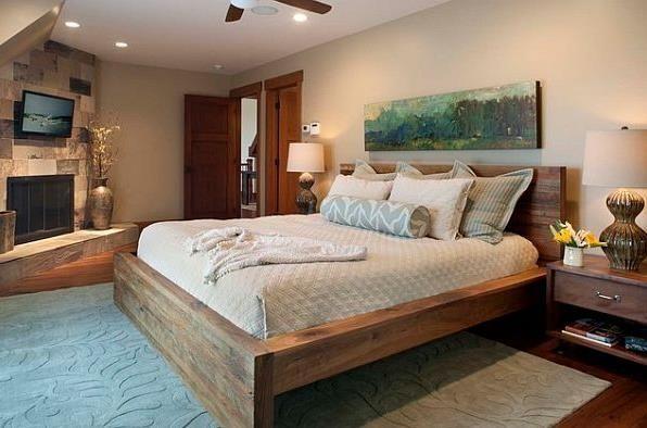 Двоспальні ліжка з масиву дерева: види і особливості