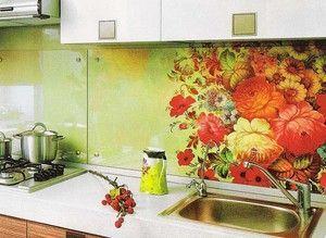 Фартух для кухні своїми руками - виготовлення і монтаж