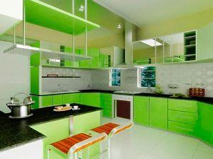 Фото дизайну зелених кухонь - доказ їхньої краси