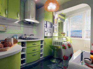 Ідеї   та фото ремонту кухні в хрущовці