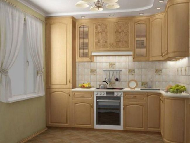 Ідеї   ремонту кухні в маленькій кухні