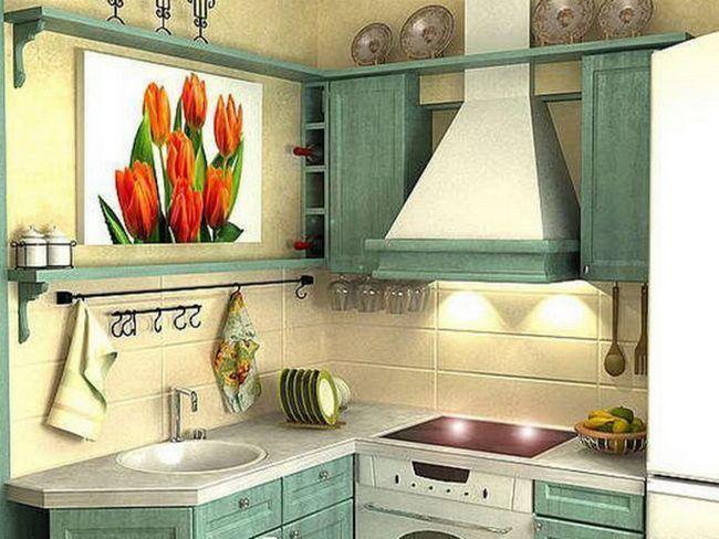 Класичний ремонт кухні в хрущовці