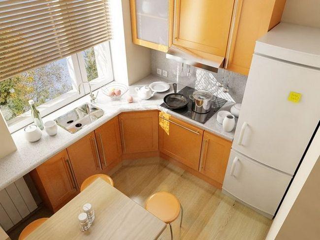 Фото ремонту кухні в хрущовці