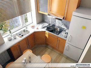 Ідеї   кухні для хрущовки