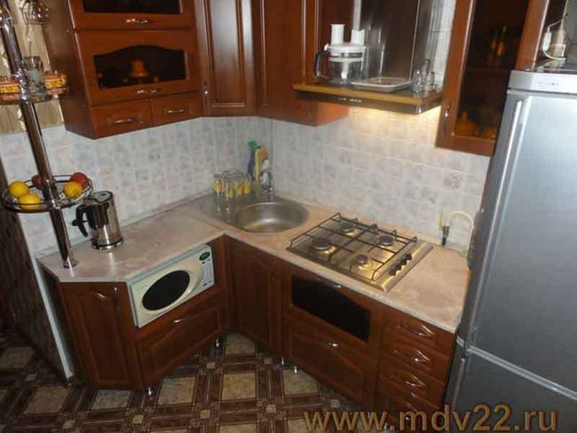 Ідеї   ремонту кухні в хрущовці