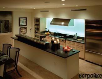 кухня без верхніх шаф