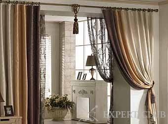 Використовуємо штори на дверний отвір