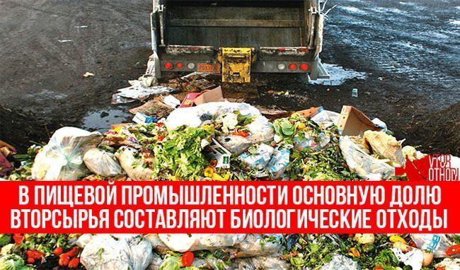 Обсяги харчових відходів збільшуються