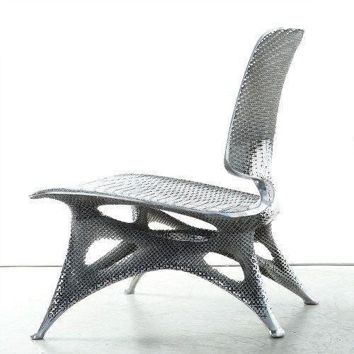 Joris laarman lab надрукували алюмінієвий стілець на 3d принтері