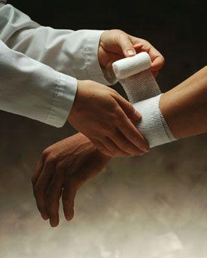 Як я лікував забій руки