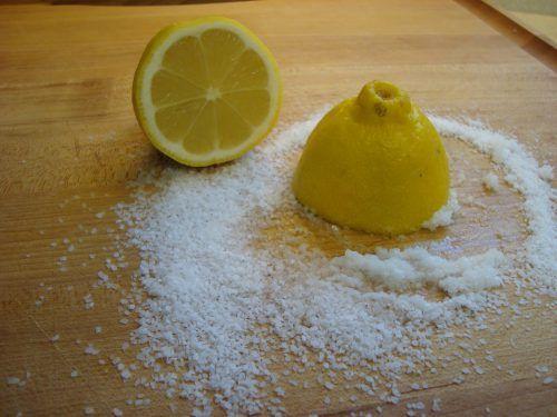 Лимон і сіль
