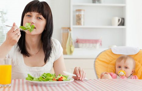 Як схуднути годувальниці?