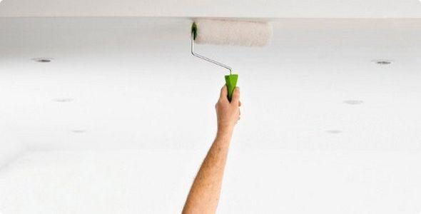 Як правильно гарантувати стелю перед фарбуванням