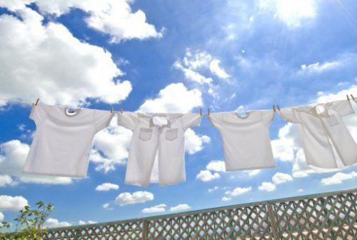 Прання білої сорочки