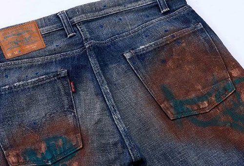 Прибрати іржу з джинсів