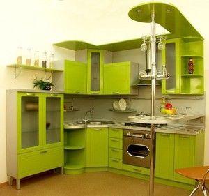 Маленька кутова кухня