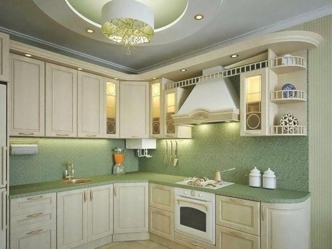 Маленька кухня в класичному стилі