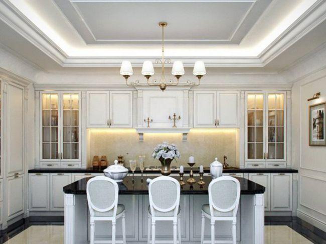 Вишукана класика білої кухні