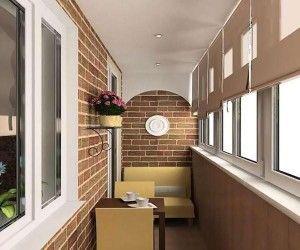 Як самому зробити стелю на балконі