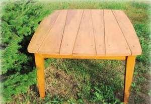 Як зробити дерев`яний кухонний стіл своїми руками