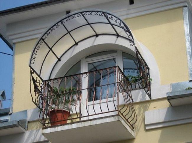 Консольний дах на балкон