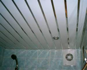 Як зробити стелю з пластикових панелей у ванній