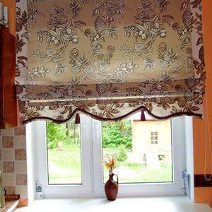 Римська штора на вікні кухні
