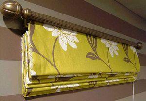 Зібрана римська штора